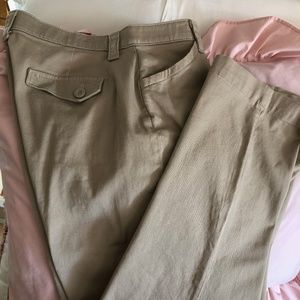 NWT Lees Comfort Fit Khakis~12P